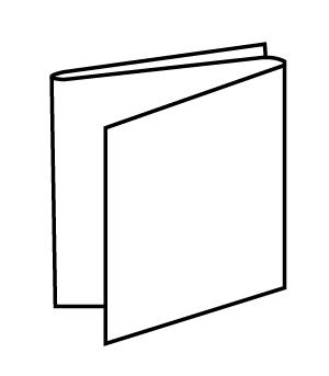 Schéma de pliage de la fiche